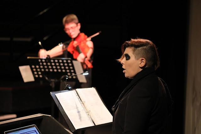 We Sing/I Sang - CN Lester with Hannah Gardiner  - Tête à Tête 2020 (Photo Claire Shovelton)