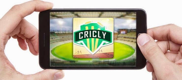 ICC World Cup Updates on Your lock screen with Cricly App