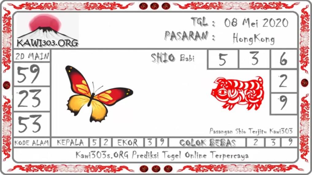 Prediksi HK Malam Ini Jumat 08 Mei 2020 - Prediksi Kawi303