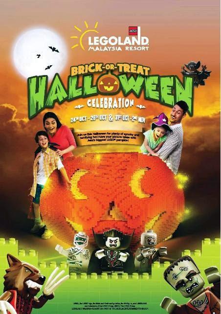 legoland malaysia resort halloween events