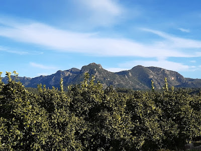 Paisaje de montaña en Barxeta