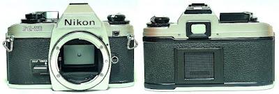 Nikon FG-20 (Chrome) Body #069
