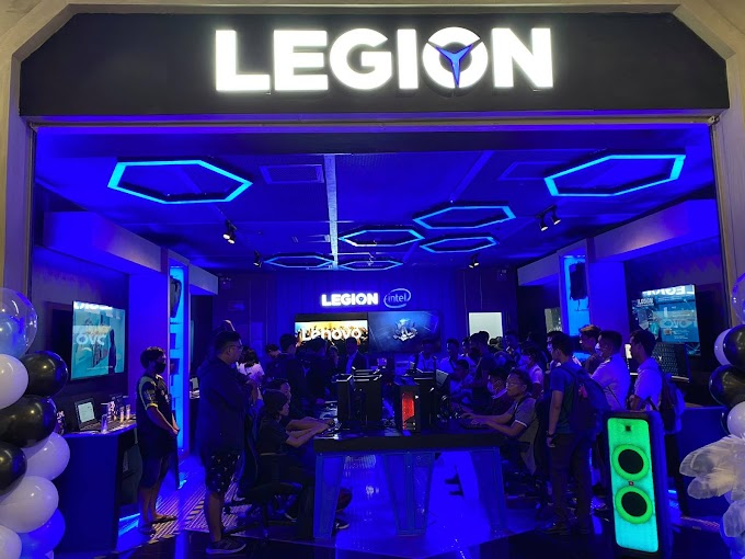 Lenovo Opens Exclusive Legion Store in Cebu