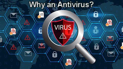 Why do we need an Antivirus software for our PCs?