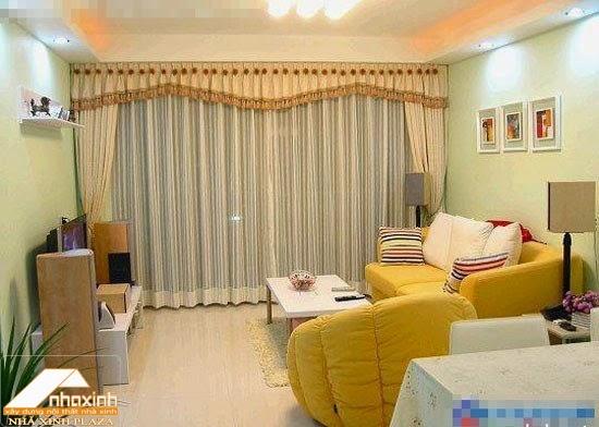 Chức năng sử dụng của rèm phòng khách