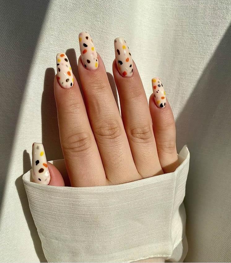 Terrazzo manicure decor 4