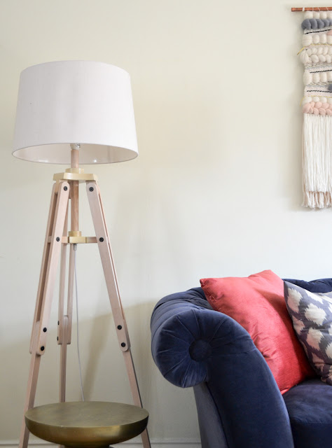 Lamp and sofa bed