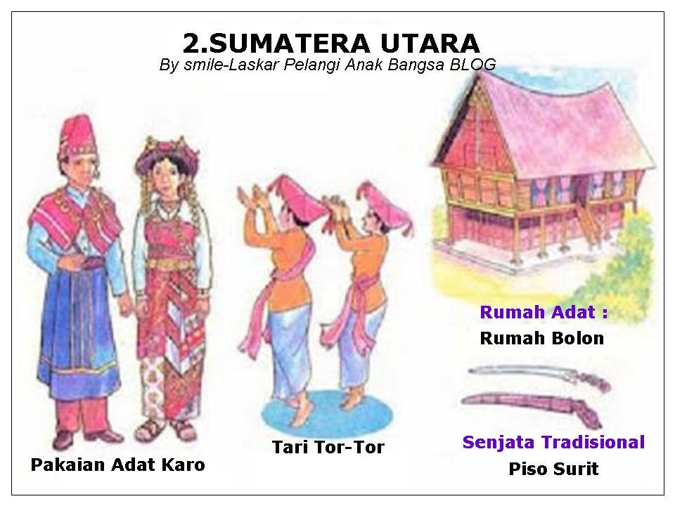 INDONESIA  33 PROVINSI  PAKAIAN TARIAN RUMAH ADAT