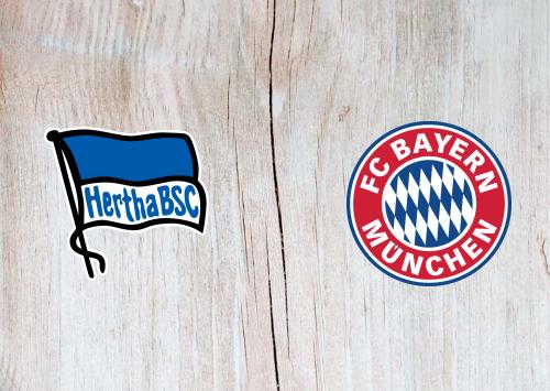 Hertha BSC vs Bayern Munich -Highlights 19 January 2020