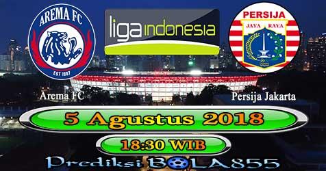 Prediksi Bola855 Arema FC vs Persija Jakarta 5 Agustus 2018