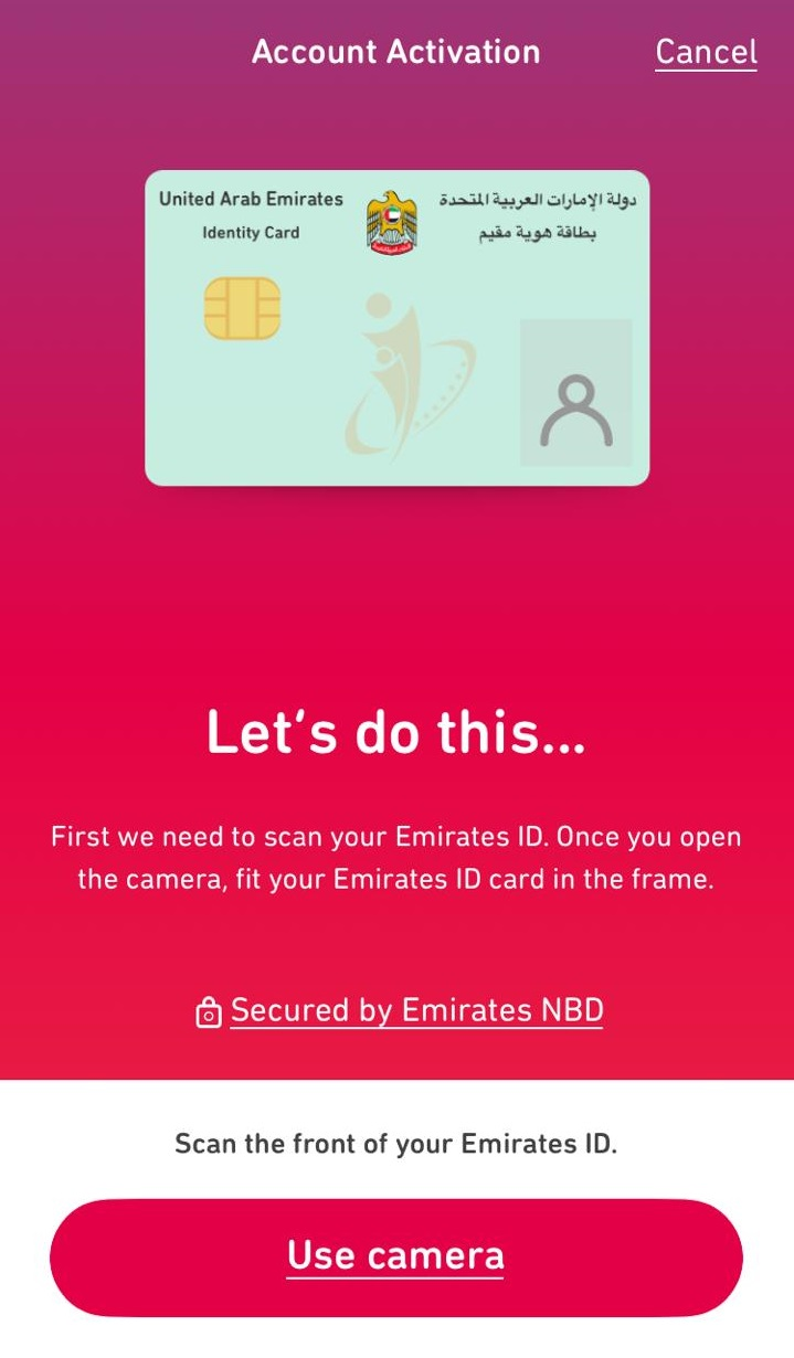 Free bank account in Dubai