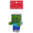 Minecraft Zombie Christmas Ornament 2018 Figure