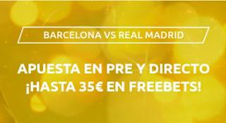 Mondobets promo Barcelona vs Real Madrid 24-10-2020