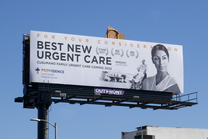 For consideration Best new urgent care Providence billboard