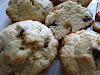 Cranberry Coconut Milk Muffin Scones