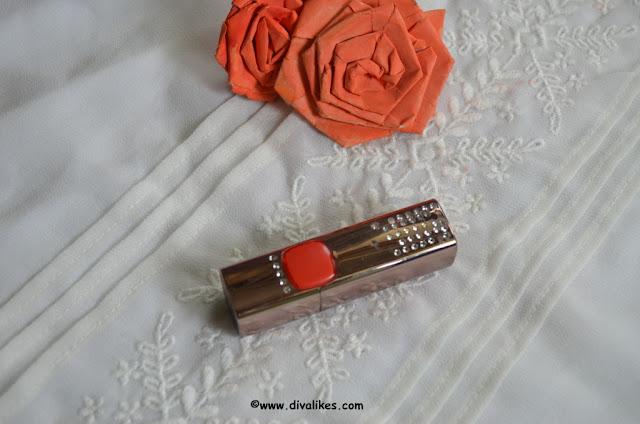 L'Oreal Paris Color Riche Moist Matte Lipstick Orange Power