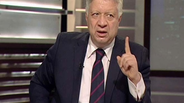 مرتضى منصور يعلن انسحاب الزمالك من الدوري العام