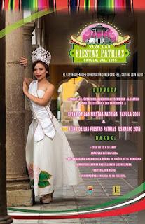 reina fiestas patrias sayula 2016