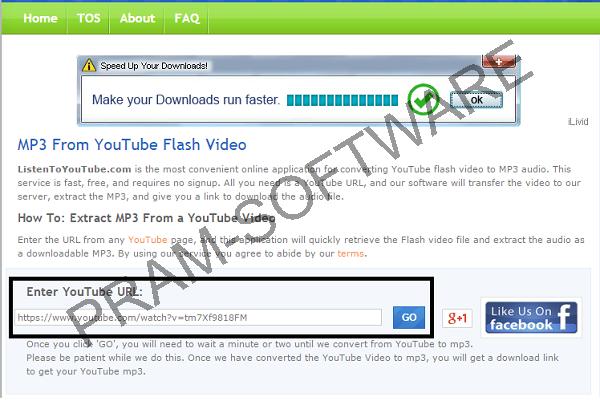 Mendownload Youtube Format MP3 Dengan Situs www.listentoyoutube.com