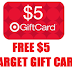 Free $5 Target Gift Card For Downloading Tik Tok - New Accounts Only