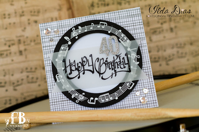 Musical Birthday Card by ilovedoingallthingscrafty