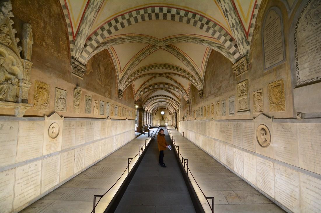 cloître des morts Santa Maria Novela