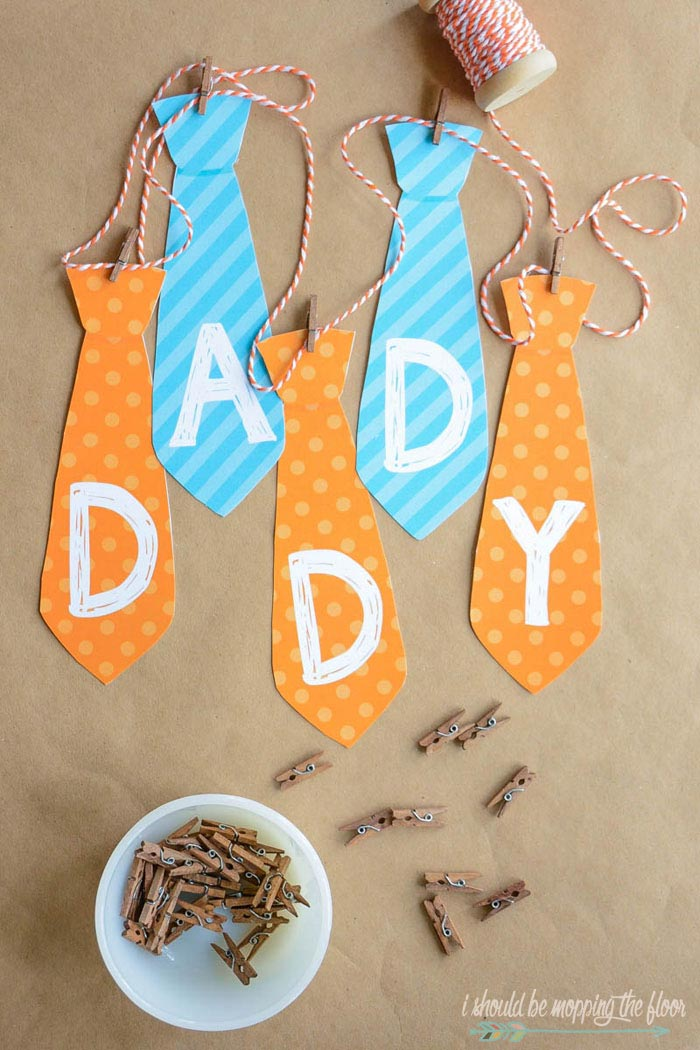 Fathers Day Banner Printable