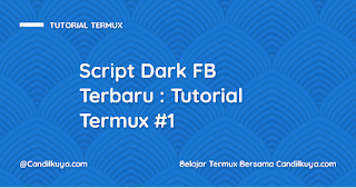 Script Dark FB Terbaru