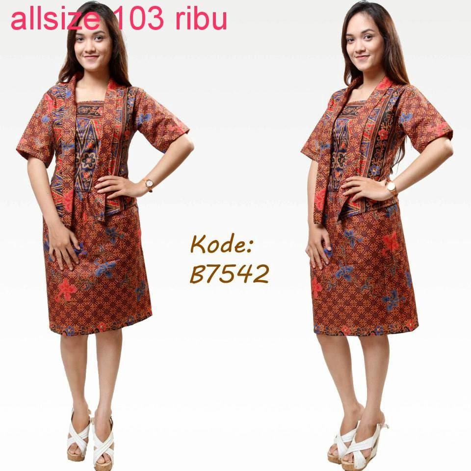 Model Baju Batik Guru Model Baju Batik