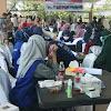 Hari Pertama Vaksinasi Massal, Jelang HUT Bhayangkara Ke-75, Polres Takalar Vaksin 2.028 Warga Diwilayahnya