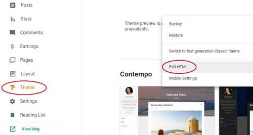 Blogger में New Responsive Theme  Install कैसे करें