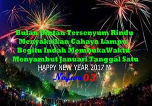 Kata Kata Ucapan Selamat Tahun Baru 2017 M