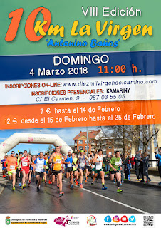 Carrera 10 Km La Virgen del Camino