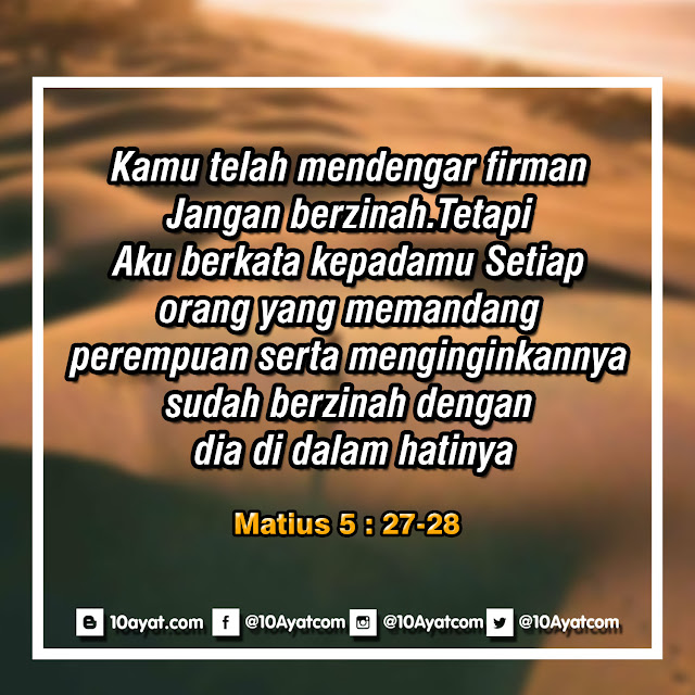 Matius 5:27-28