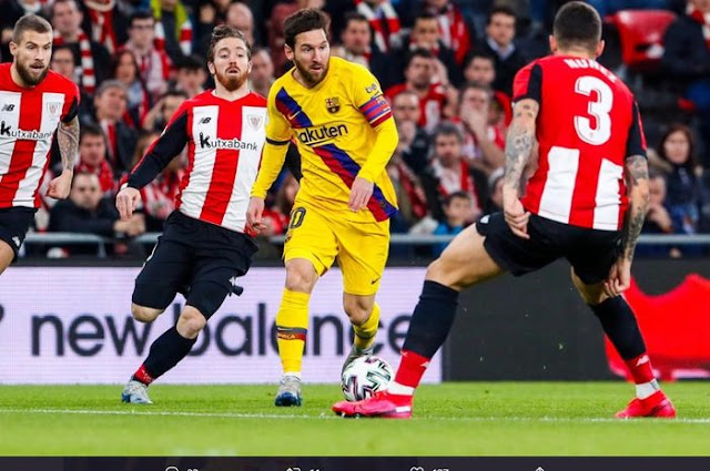 Prediksi Athletic Bilbao vs Barcelona 7 Januari 2021