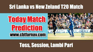 NZL vs SL 1st T20 Match Prediction Today