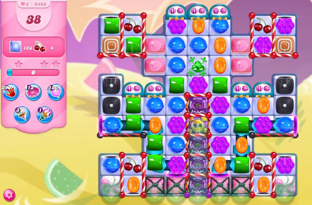 Candy Crush Saga level 9498
