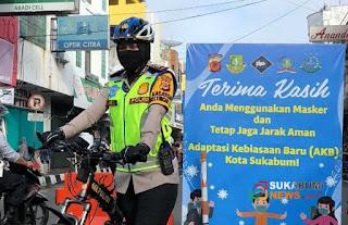 Kasat Lantas Polres Sukabumi Kota, AKP Atik Siswanti.