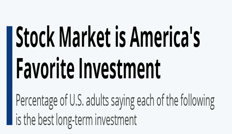 Stock Market is America's Favorite Investment