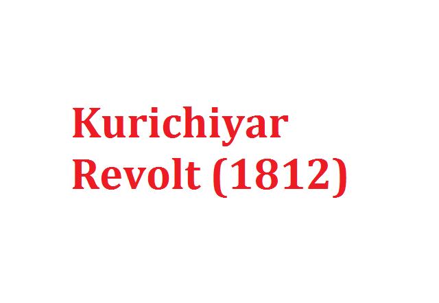 Kurichiyar Revolt (1812)