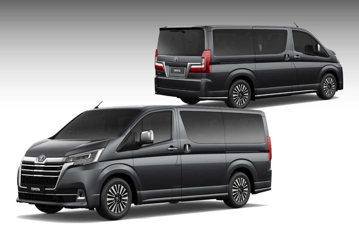 toyota's luxurious 2020 hiace super grandia finally