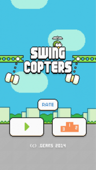 Swing Copters-  the hardest mobile game ever created!