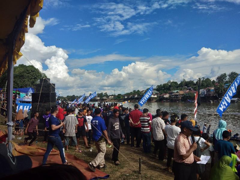4 Tim Ini Rebut Juara Harapan Sampan Bidar Di Desa Tanjung