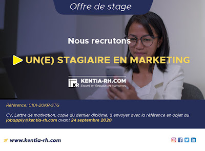 Stagiaire en Marketing