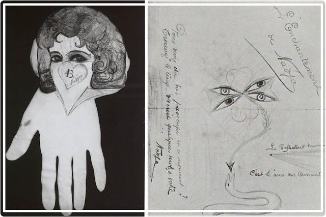 Dessins de Léona Delcourt dit Nadja  ( André Breton )
