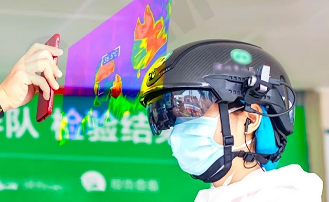 Helm Pintar Pendeteksi Demam - Smart Helmet