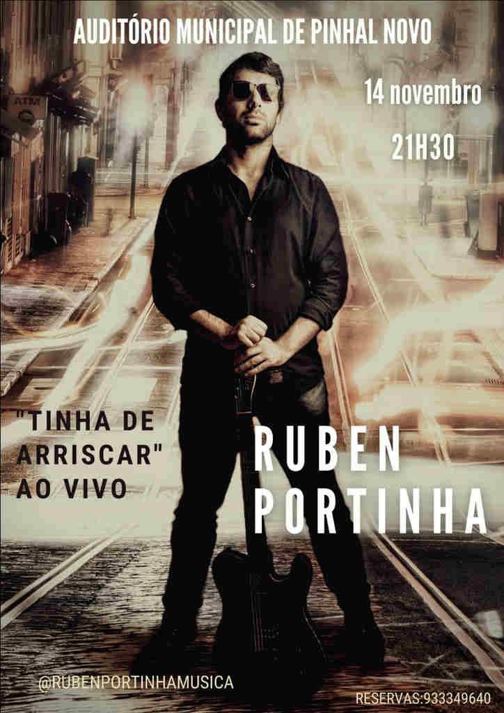 """Auditório Municipal de Pinhal Novo prepara-se para acolher, a 14 de novembro, o primeiro espetáculo de apresentação do álbum """"Tinha de Arriscar"""""""
