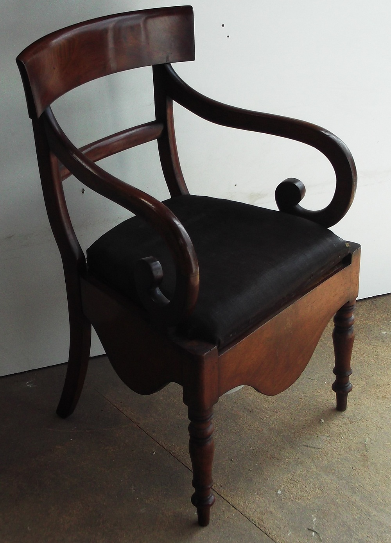 The Used Emporium Antique Chair Commode
