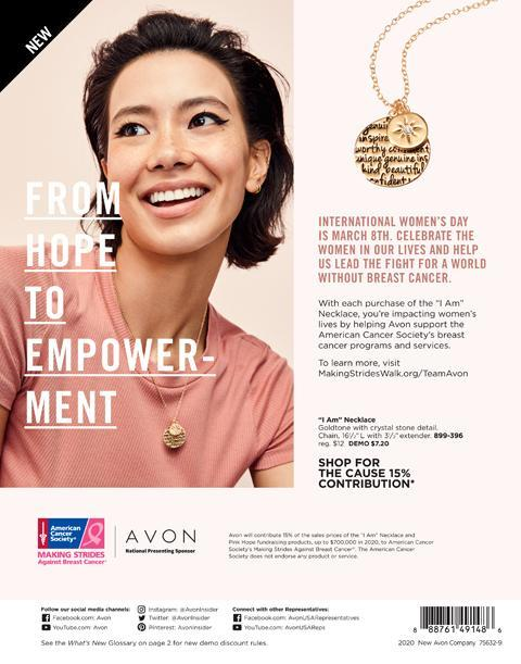 Avon What's New Campaign 6 2020