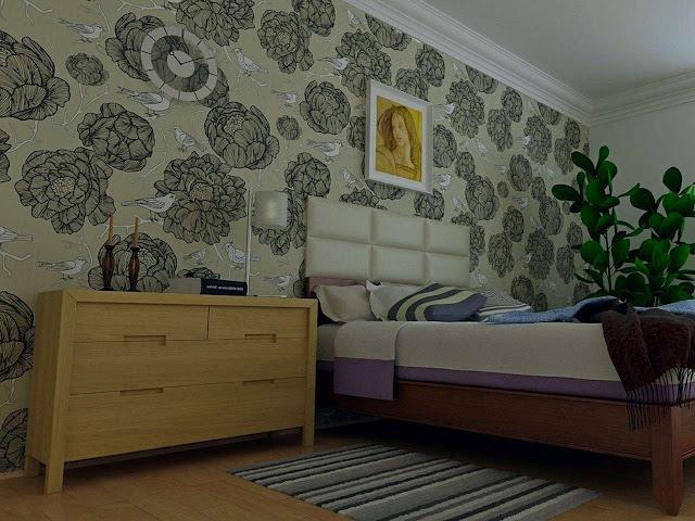 6 Tips Memilih Wallpaper Dinding Untuk Kamar Tidur Yang Sempurna Arafuru